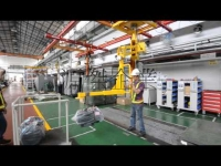 生產線機器組裝用之無重力平衡手臂 Globe Star manipulator for machine assembly line